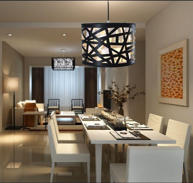 Resultado de imagen para iluminaci n comedor sala - Iluminacion para cocina comedor ...