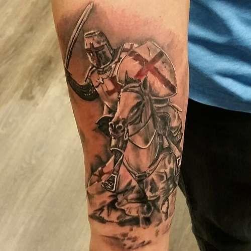 English Patriot Tattoo Design - Tattoo Shortlist