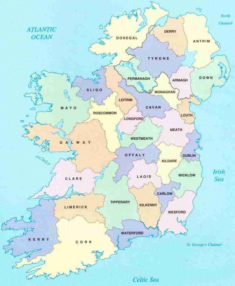 Ireland Vacation Planning Tips Tools With Images Ireland Map