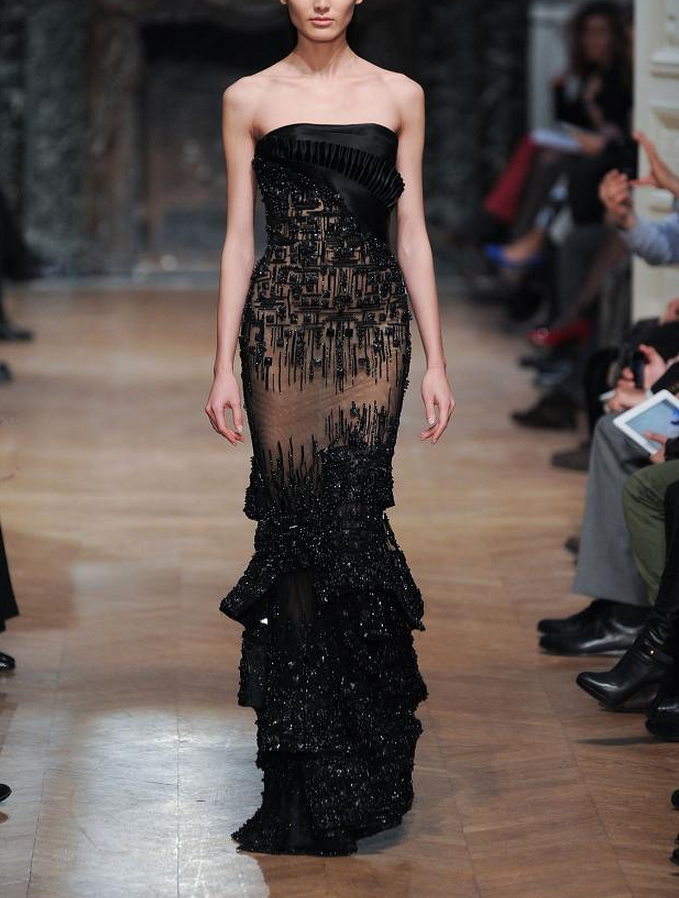ZsaZsa Bellagio – Like No Other: Gorgeous Haute Couture Gowns - Tony Ward S14