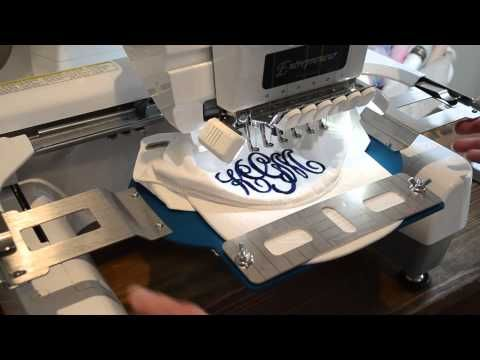 The Durkee Cap Frame Machine Embroidery Designs Monogram Cap Videos Tutorial