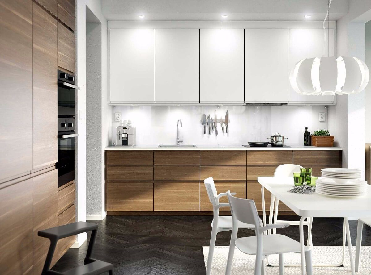 Ikea Metod With Voxtorp Doors Ikea Kitchen New Kitchen Cabinets Kitchen Design