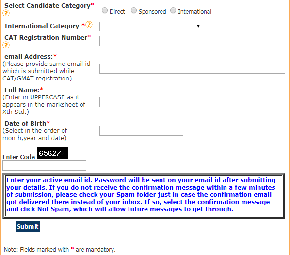Nitie Mumbai Application Form  Format  Online Application
