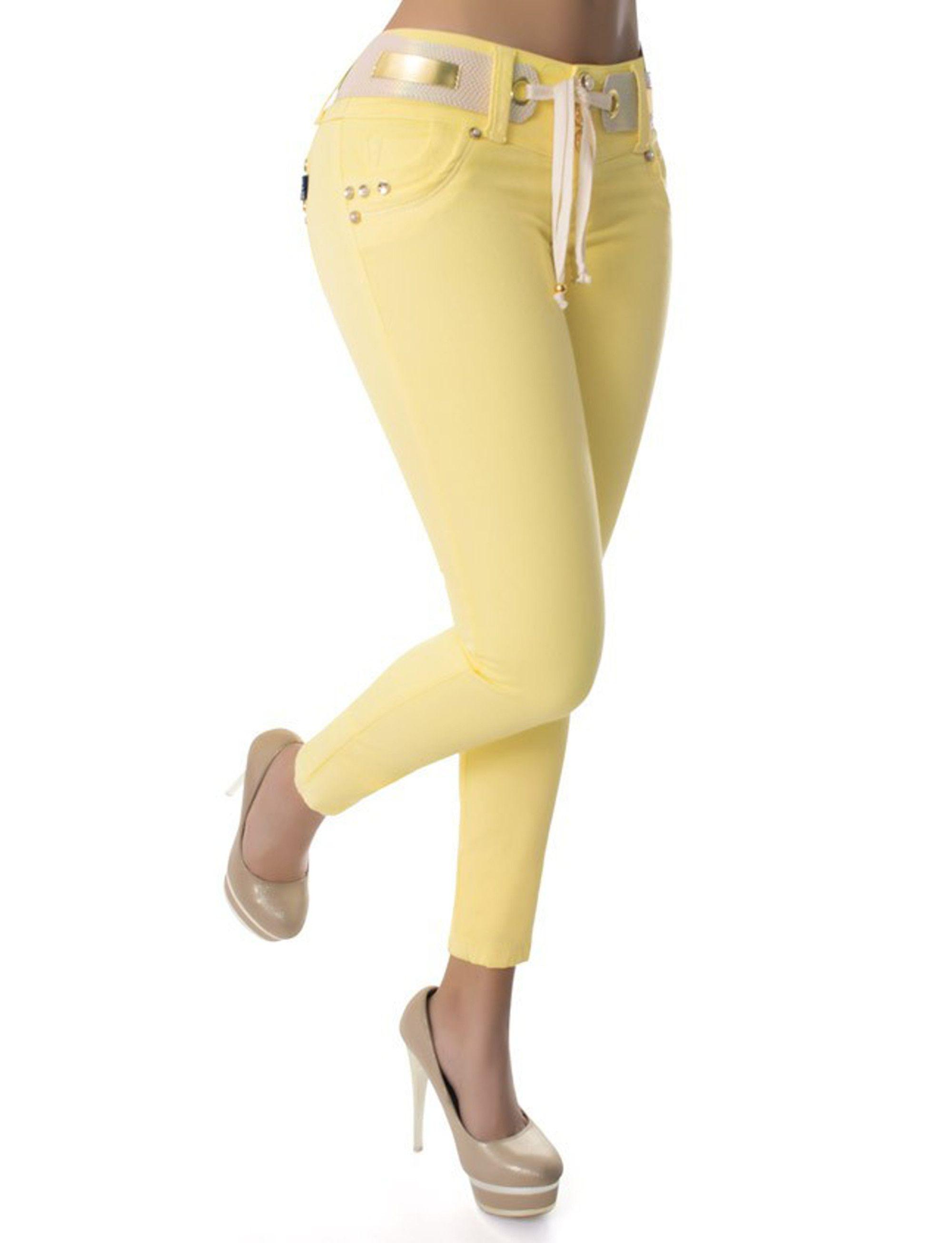 Los vaquero Amarillos push up, son ampliamente conocidos por el efecto pum-up que incorporan un nuevo estilo gracias al diseño de pinzas laterales, creamos un patrón exclusivo para controlar el abdomen #Vaqueroscolombianos#Vaquerospushup #jeanspushup#Vaquerospitillo#pantaloncolombiano #tejanos los consigues en www.hadabella.com