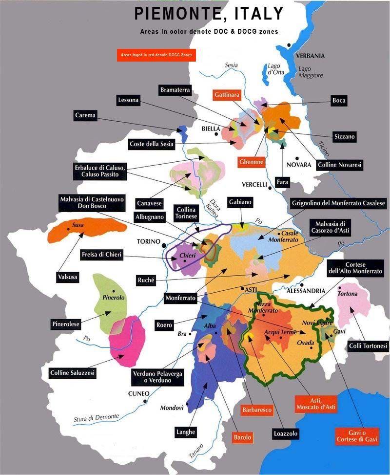 Piemont Weinbau Karte.Lage Der Boca In Piemont Christoph Künzli Le Piane Die Eleganz