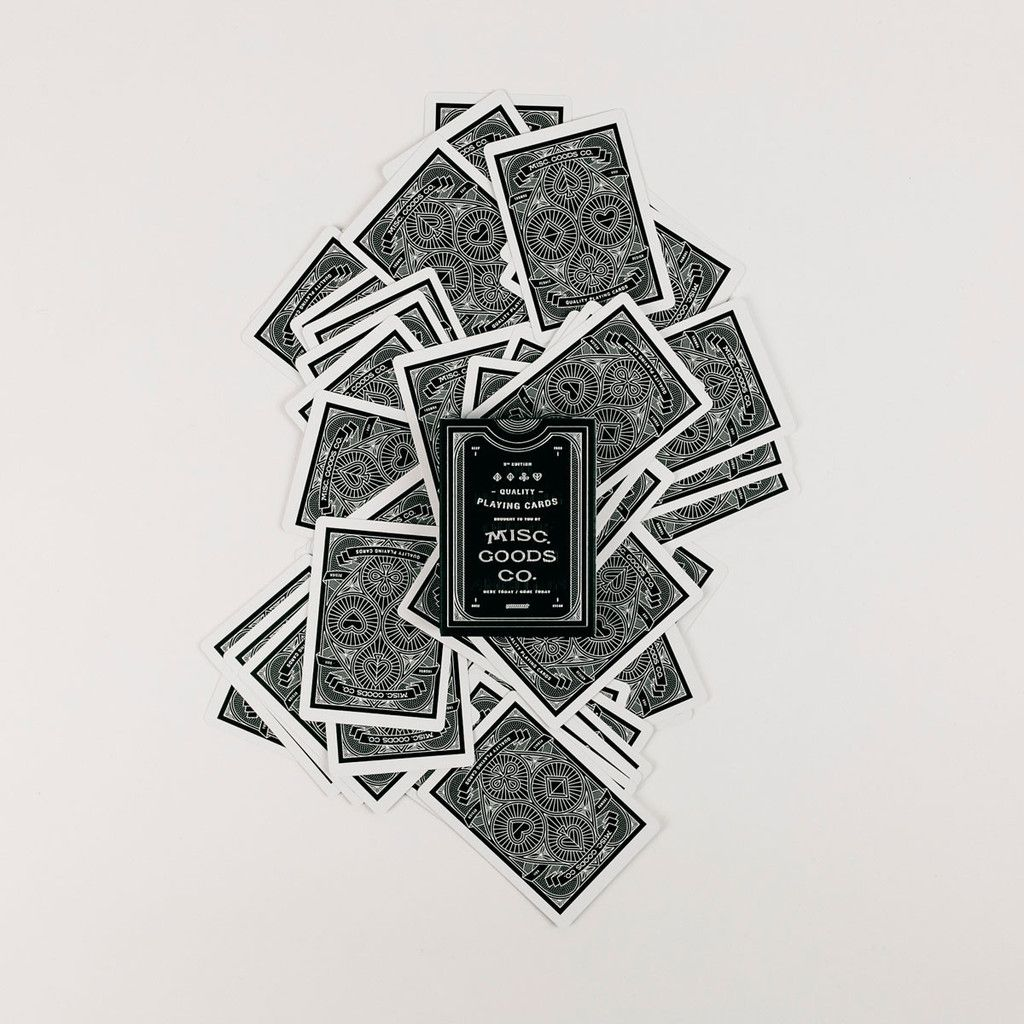 Misc goods co playing cards playing cards and fonts playing cards biocorpaavc