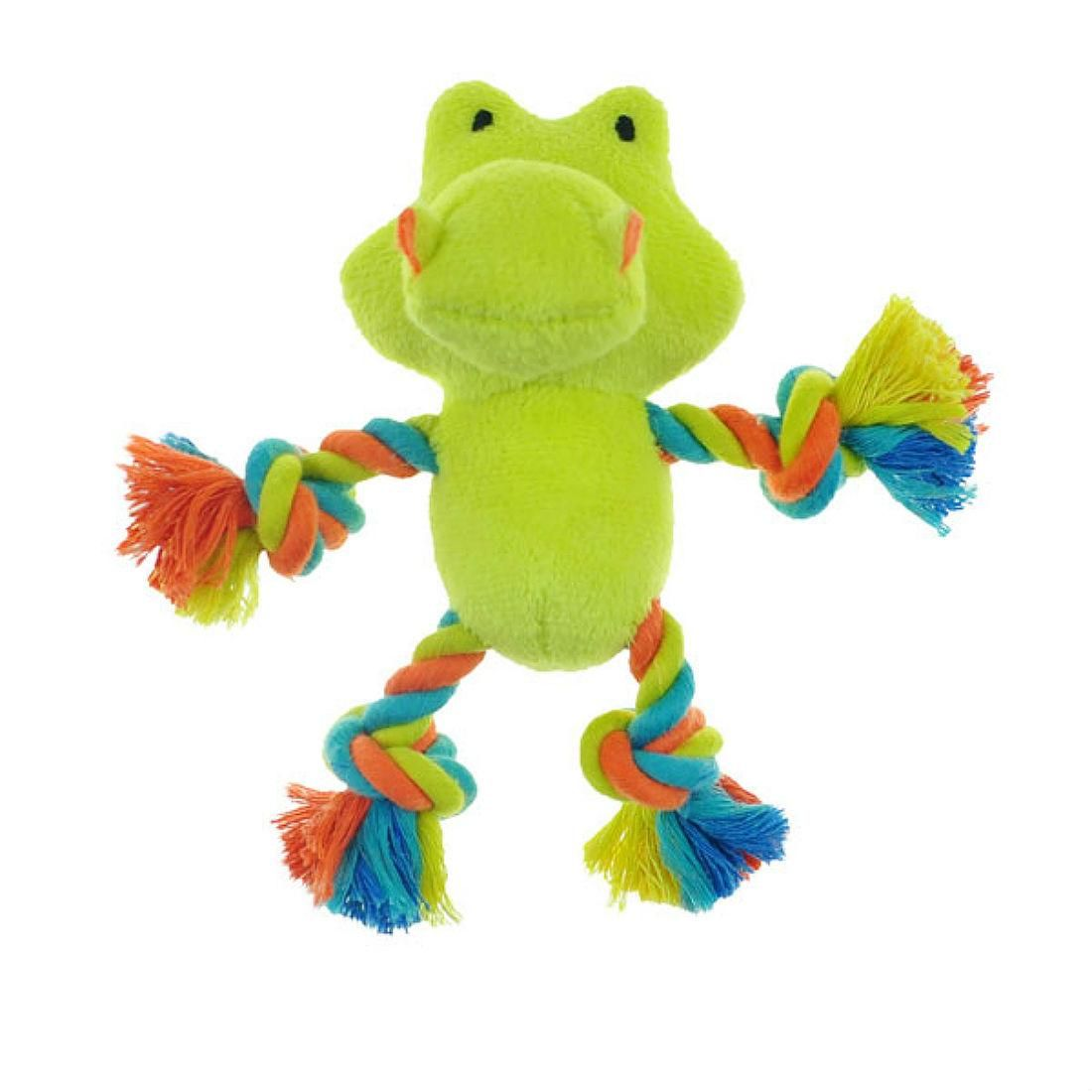 Chomper Mini Safari Tug Me Dog Toy Gator Dog toys