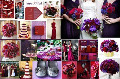 OK definitely feeling good about the combo of red and purple. Found ...