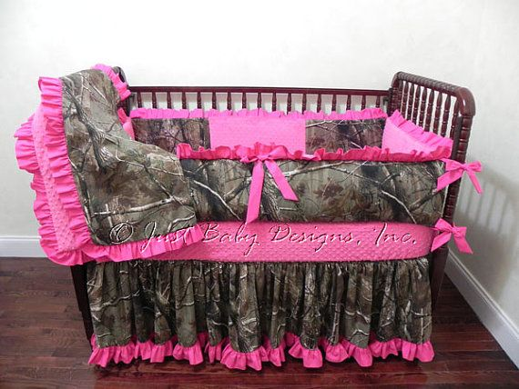 Crib Bedding For Girls Pink
