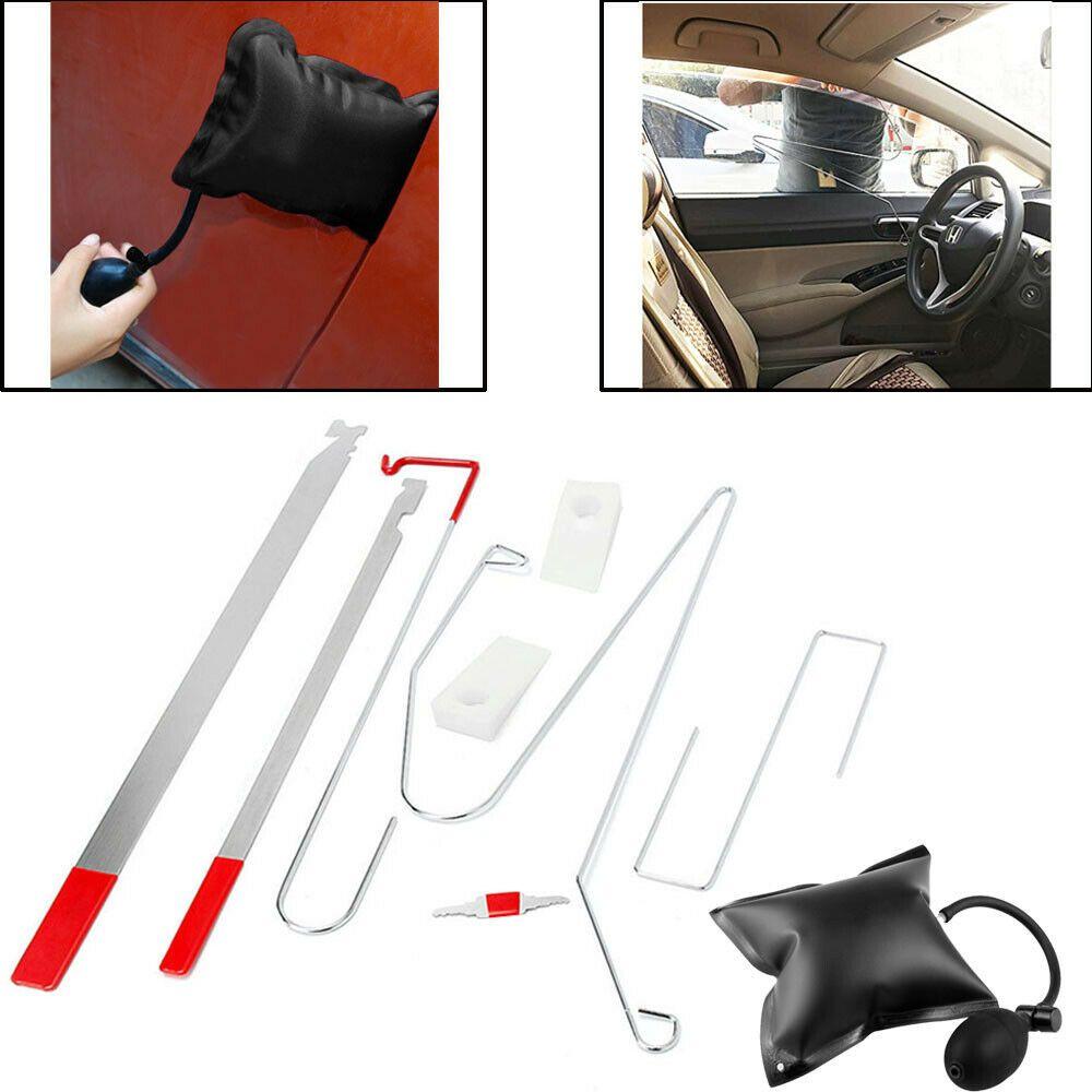 Details About Universal Car Door Lock Out Emergency Open Unlock Key Tools Kit Air Pump Wedge With Images Car Door Lock Air Pump Car Door