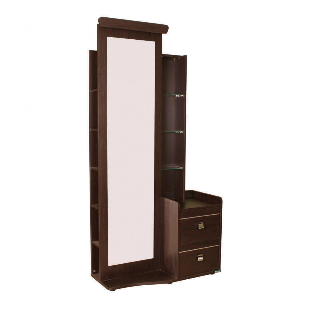 dressing table with full mirror