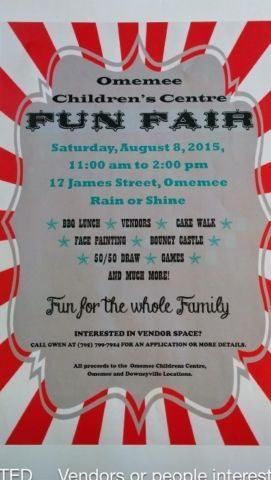 August 8th Fun Kawartha Lakes Family Vendor Opportunity