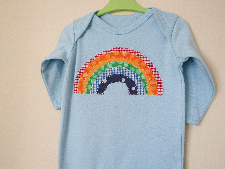 Etsy Shop Rainbow Baby Clothes Rainbow Bodysuit Rainbow Baby