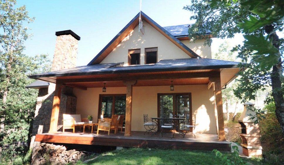 Casa Salbary | Nuestras Casas | Pinterest | Estructura de madera ...