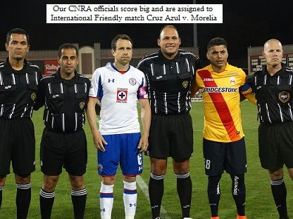 ad6fb7567f4 SFSFL Officials working International friendly - Cruz Azul v. Morelia