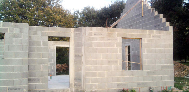 Le Parpaing Domine Toujours La Construction De Maison Françaises #construire  #maison #ConstruiresaMaison