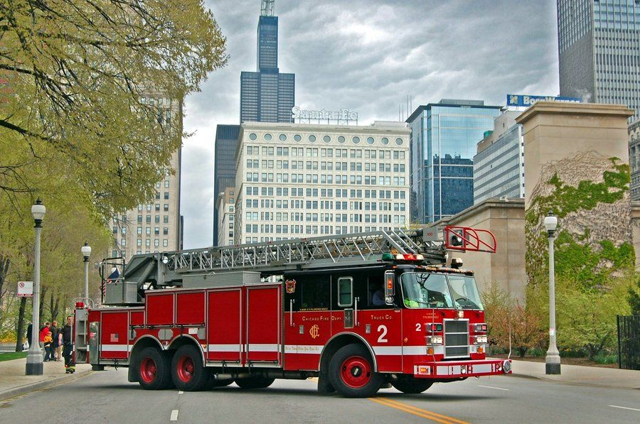 Chicago Fire Department Engine 121 Shirt