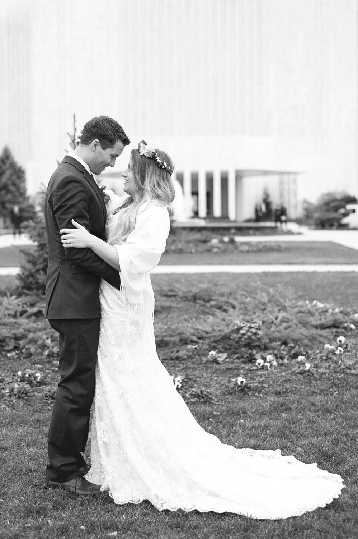 LDS Temple Winter Wedding Winter wedding ceremonies