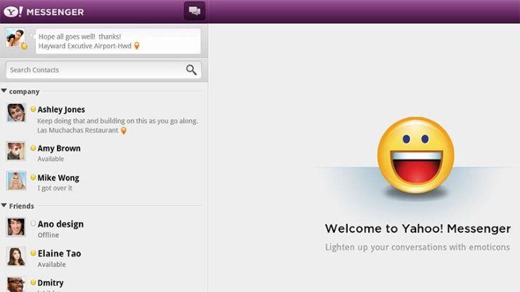 Goodbye, OldSchool Yahoo Messenger App Yahoo messenger