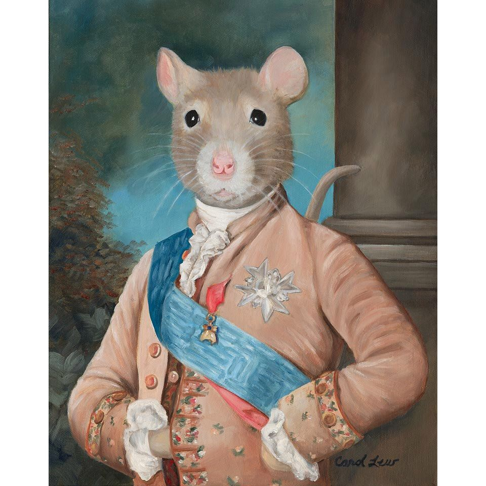 Rat In Costume Canvas Prints Sir Walter Ratleigh Rat Pet Novelty Gift In 2020 With Images Cute Rats Pet Portraits Pet Costumes