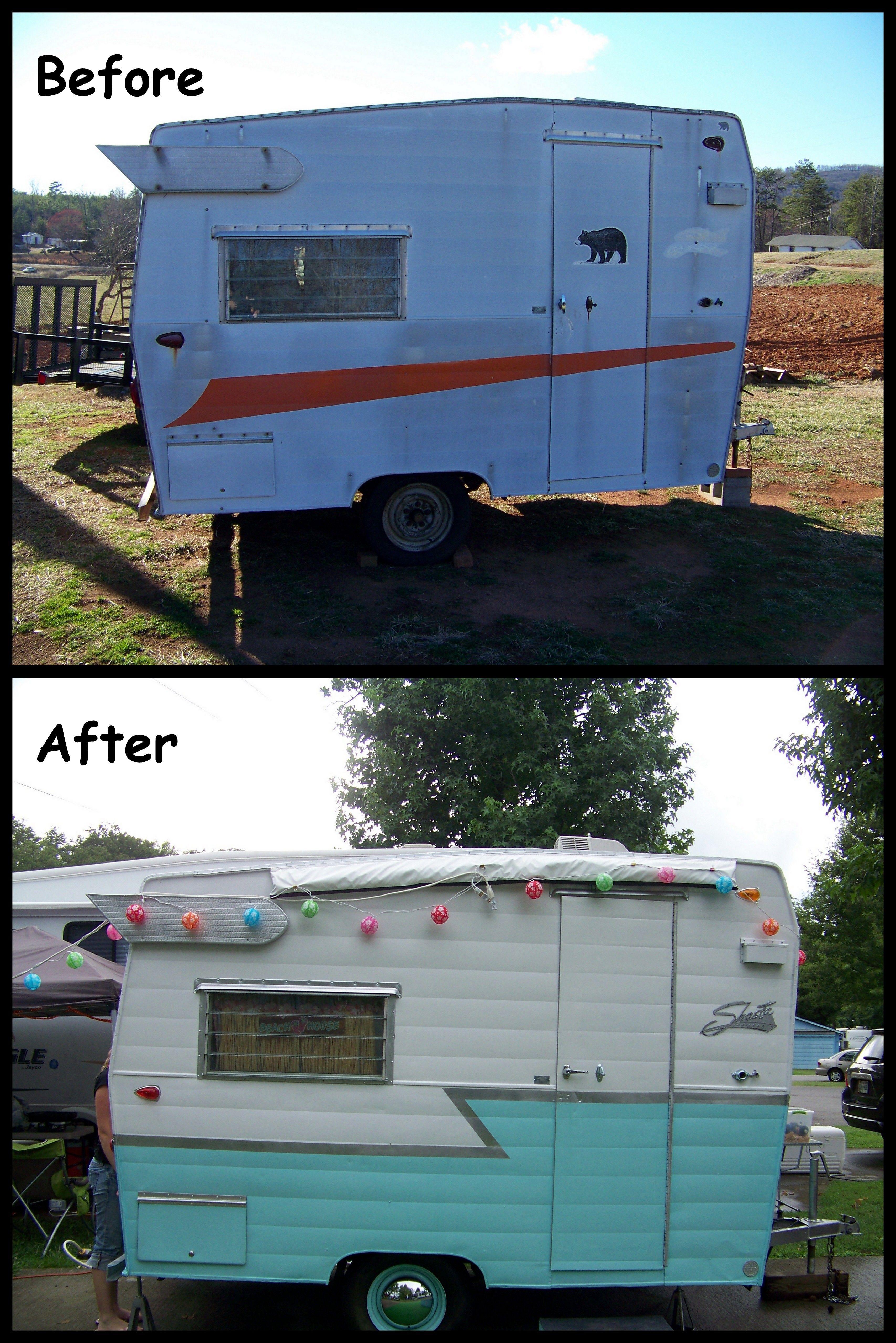 My Vintage Shasta Camper Remodel