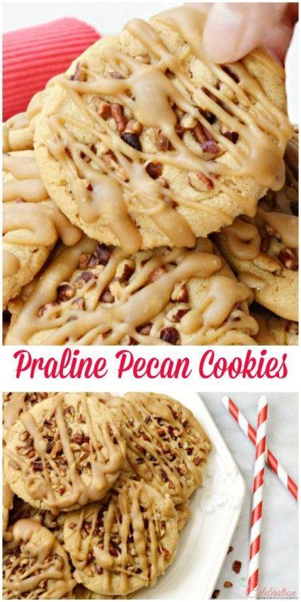 Praline Pecan Cookies