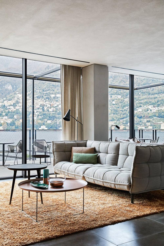 The coolest hotel on Lake Como Decoração