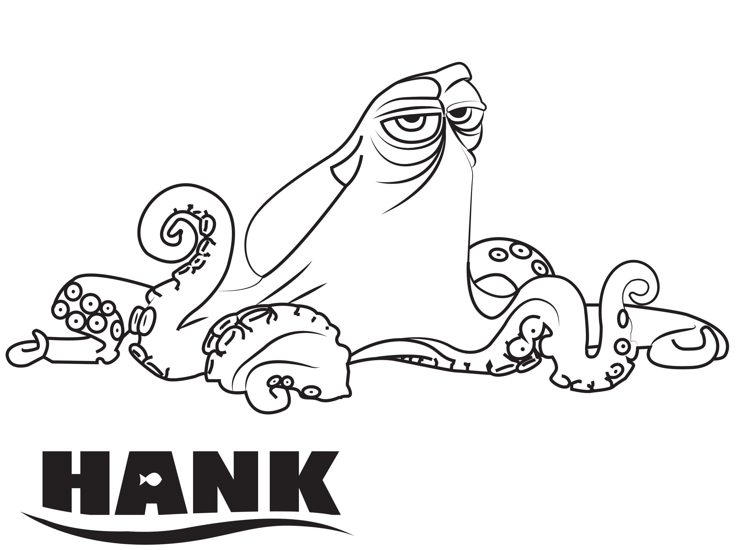 Finding Dory Coloring Pages Hank Educative Printable Finding Nemo Coloring Pages Nemo Coloring Pages Coloring Books
