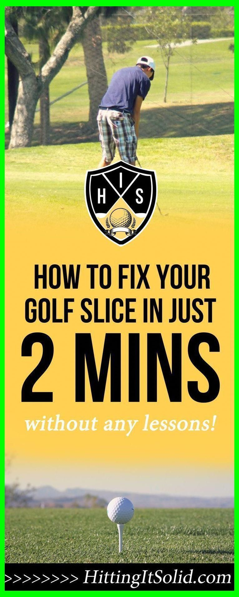 How To Fix Your Golf Swing Slice. How Do You Get Rid Of A
