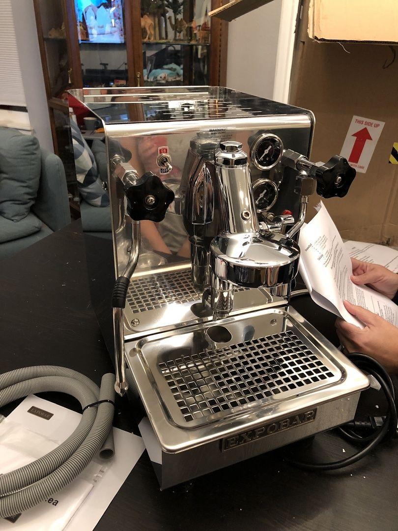 Expobar Office Lever Plus SemiAutomatic Espresso Machine