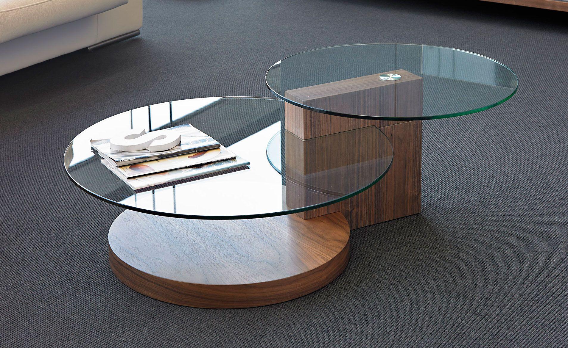 Mesa de centro nogal Pever | Mesa de centro moderna, Moderno y Centro