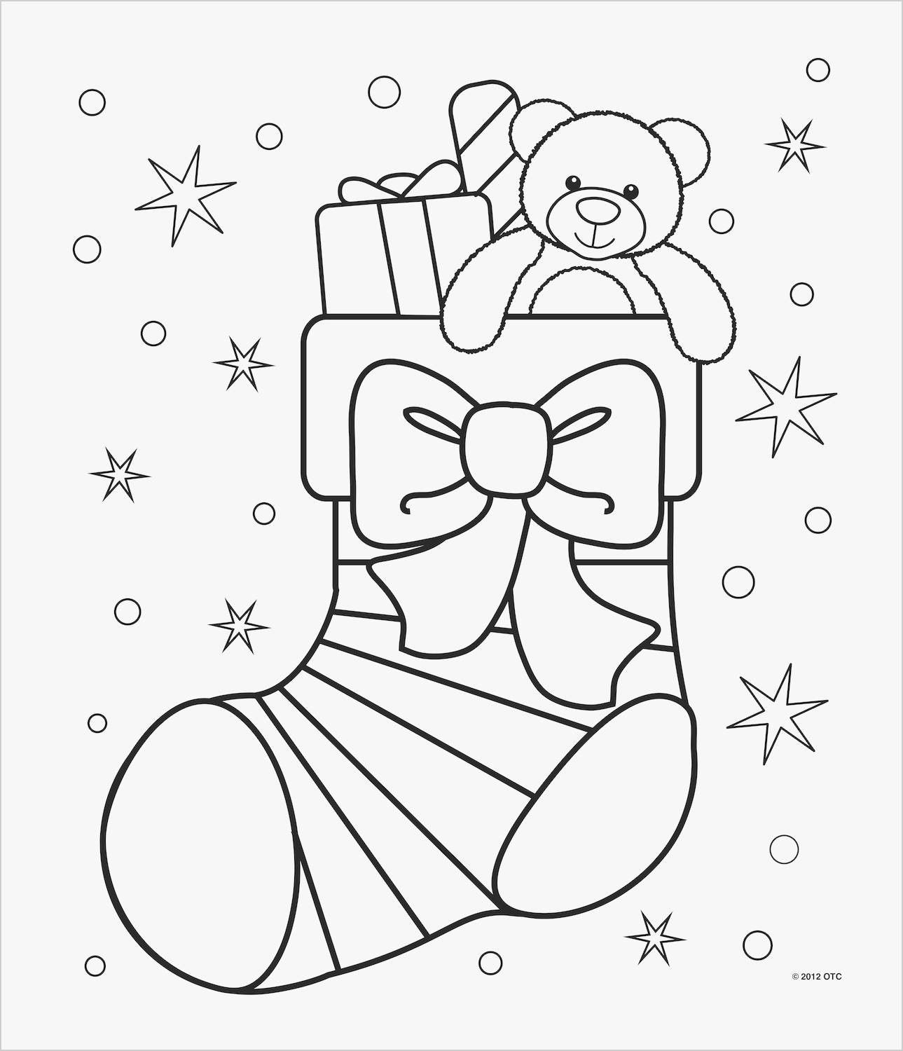 5 Worksheet Christmas Coloring Pages For Toddlers Best