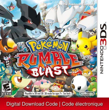 Nintendo 3ds pokemon rumble blast [download] | pokemon rumble.