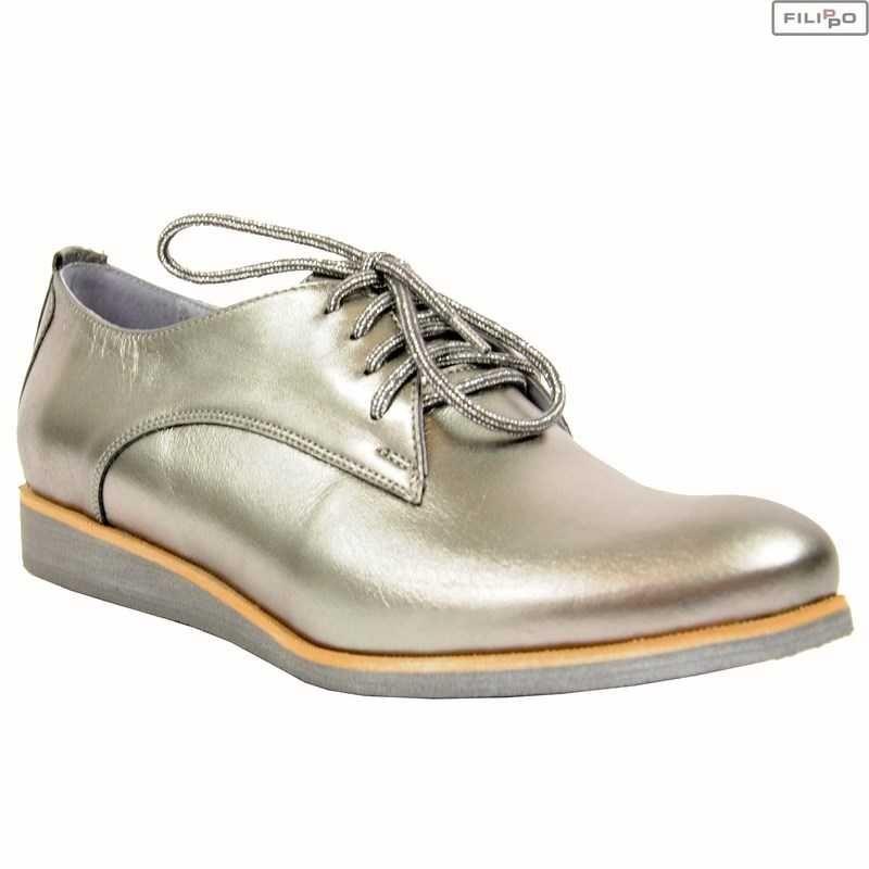 Polbuty Karino 1646 040 P Ciemny Srebrny 8022617 Buty Damskie Polbuty I Mokasyny Filippo Pl Dress Shoes Men Oxford Shoes Shoes