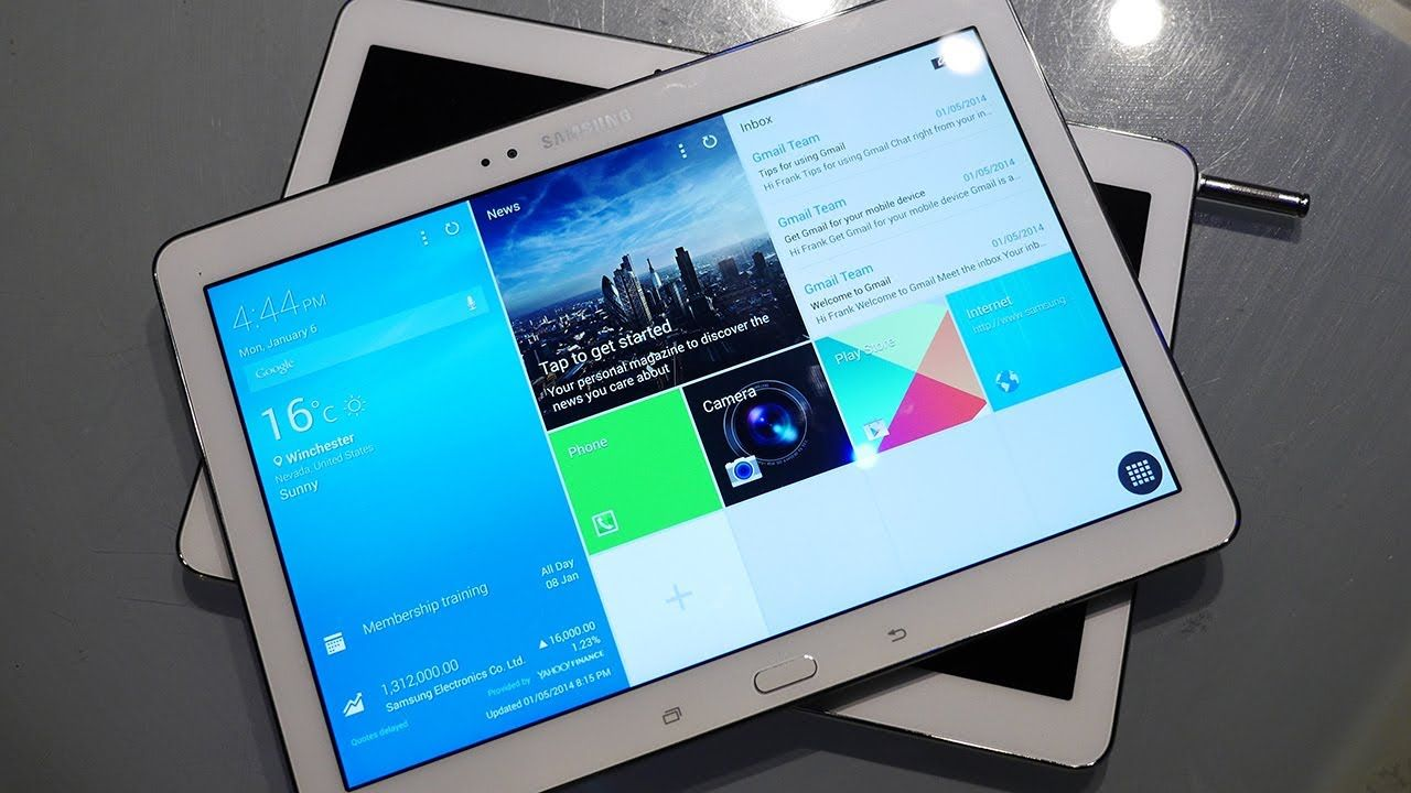 Samsung Galaxy TabPRO 10.1 First Look! [CES 2014]