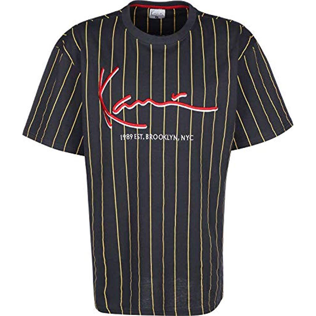 schnüren in Luxusmode verrückter Preis Karl Kani Signature Pinstripe T-Shirt #Bekleidung #Herren ...