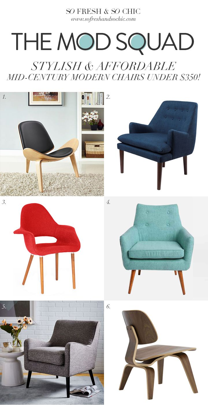 For the Home 6 Stylish & Affordable Mid-Century Modern ...