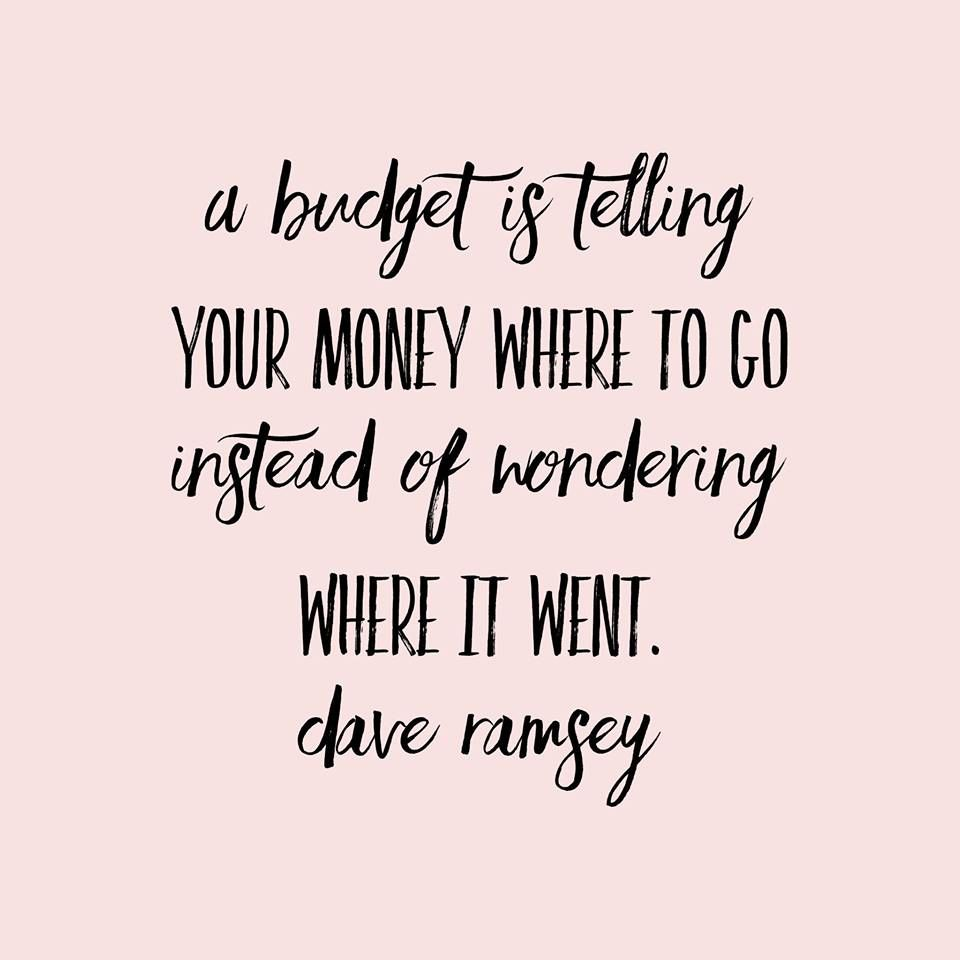 Dave Ramsey Quotes funny Budgeting DaveRamsey