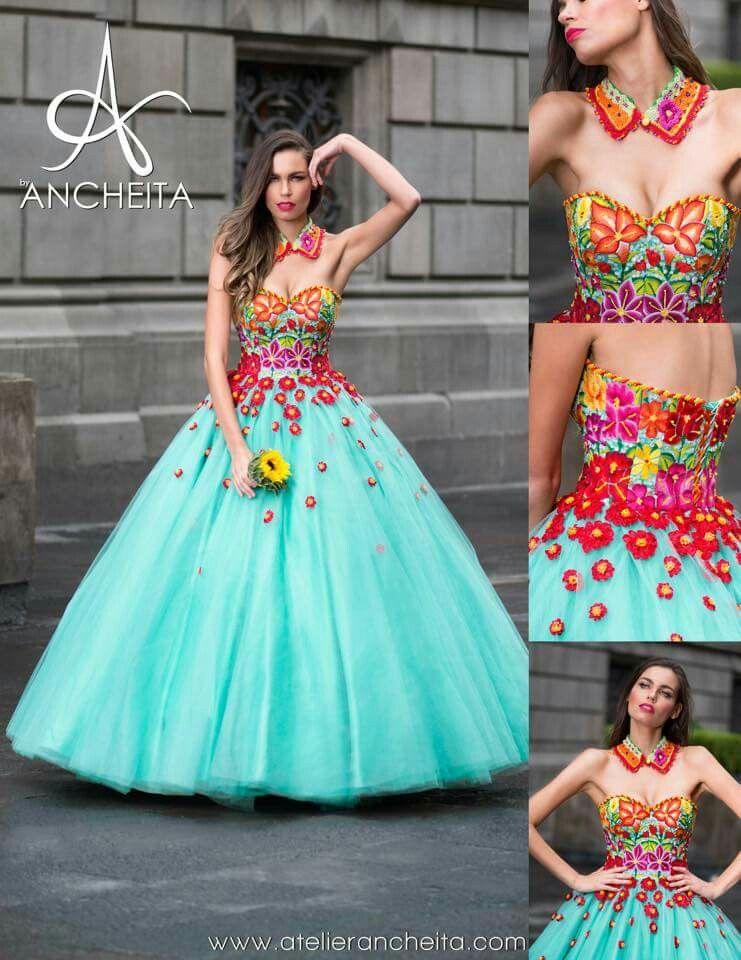 Pin de Girl Quinceanera en Mexican quinceaera dresses ...