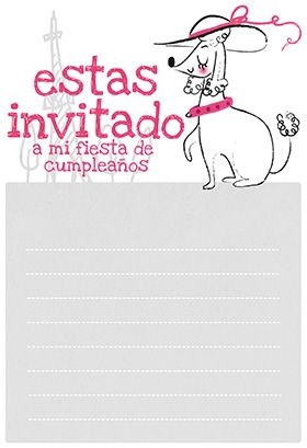 """L'invitation"" printable invitation. Customize, add text and photos. print for free!"