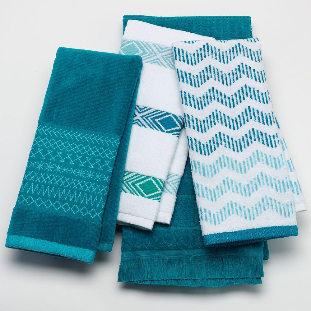 Sonoma Goods For Life Carnivale Bath Towels Goruntuler Ile
