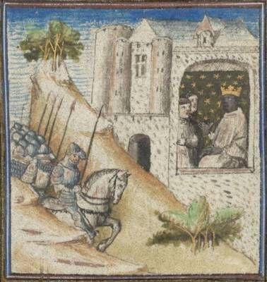 BNF Latin 54 - Conjuration de Catilina  Guerre de Jugurtha  Medieval Manuscript 7