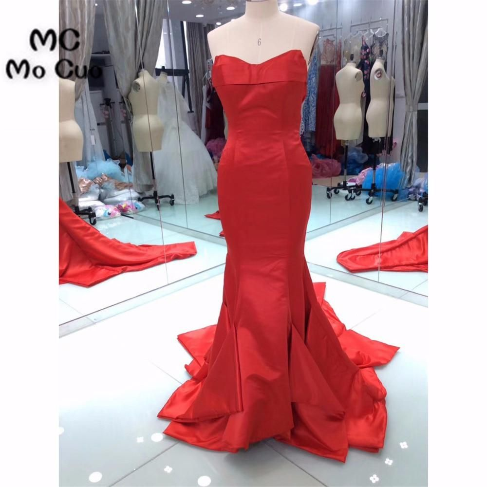 Fasion new arrival mermaid prom dresses long ruffles pleat