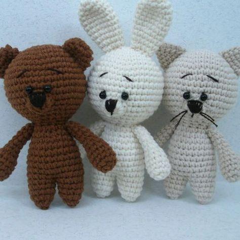 Free Crochet Animal Patterns Amigurumi Patterns Pinterest