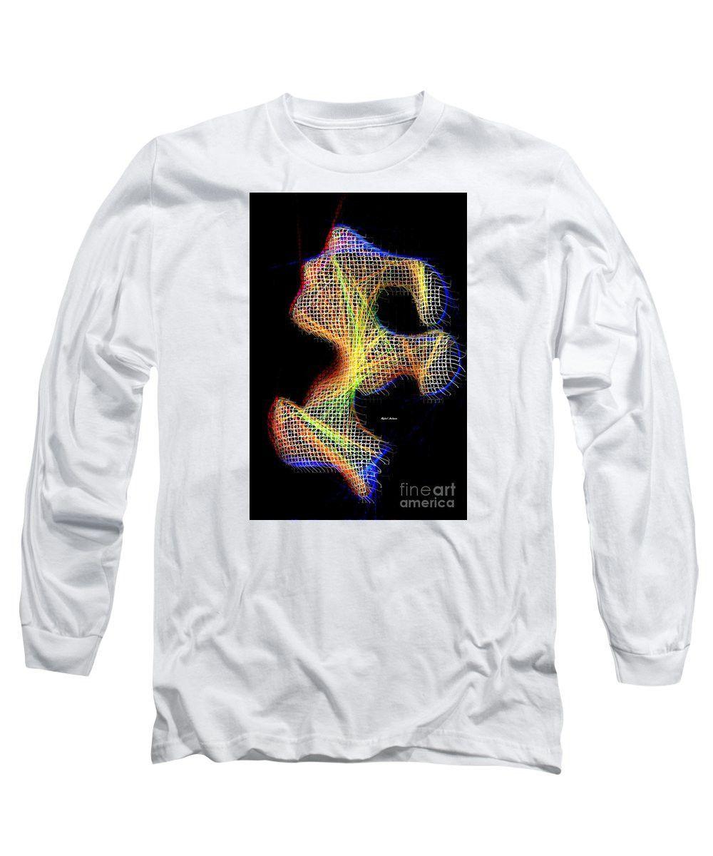 Long Sleeve T-Shirt - 3d Abstract 711