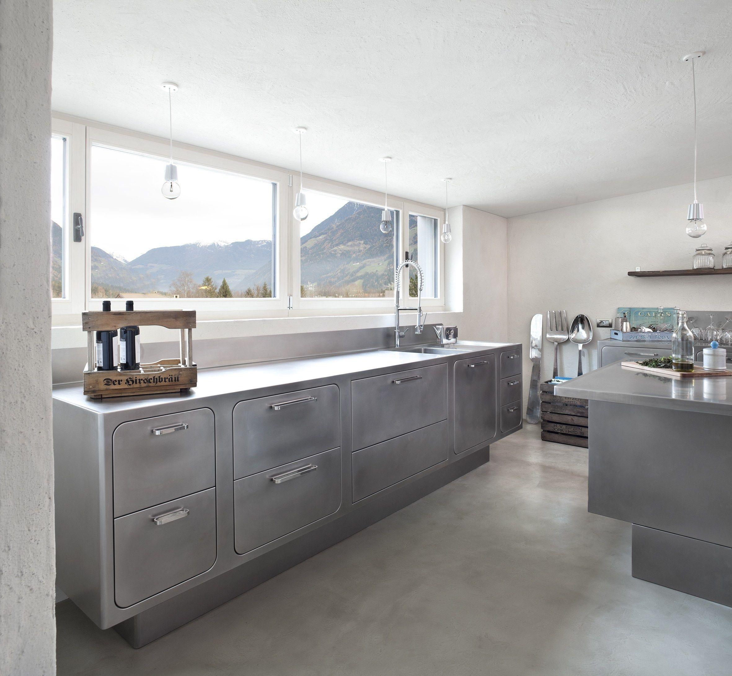 Uberlegen Küche Aus Edelstahl Für Gewerbe EGO By ABIMIS By PRISMA | Design Alberto  Torsello