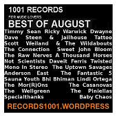 MIXTAPE BEST OF AUGUST https://records1001.wordpress.com/