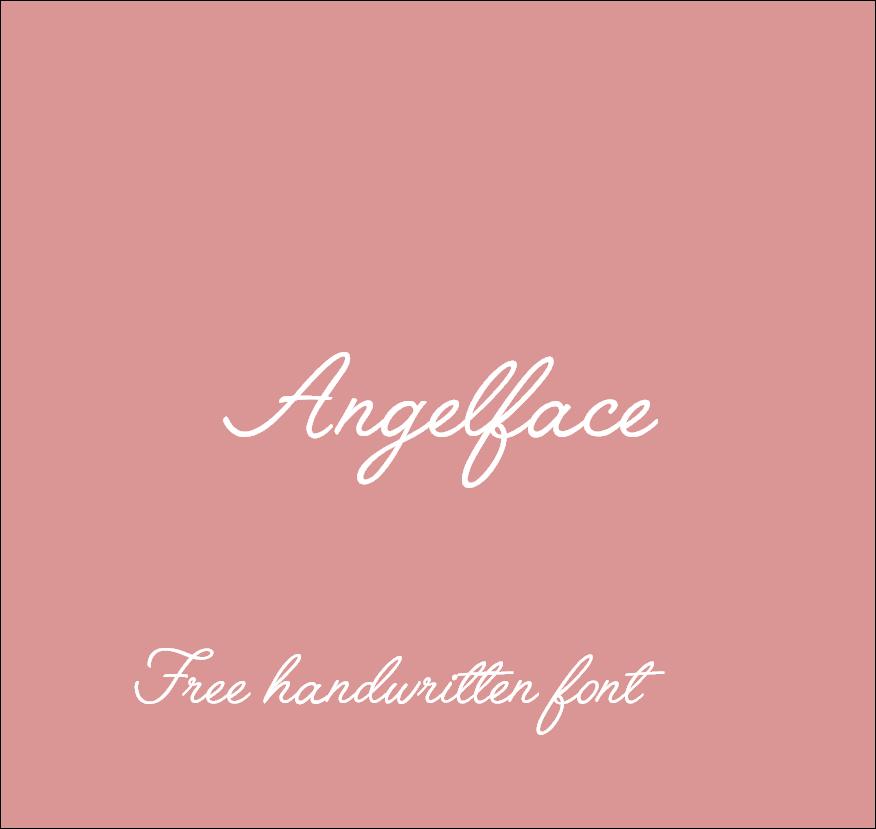 Free handwritten font. Fuente manuscrita gratuita