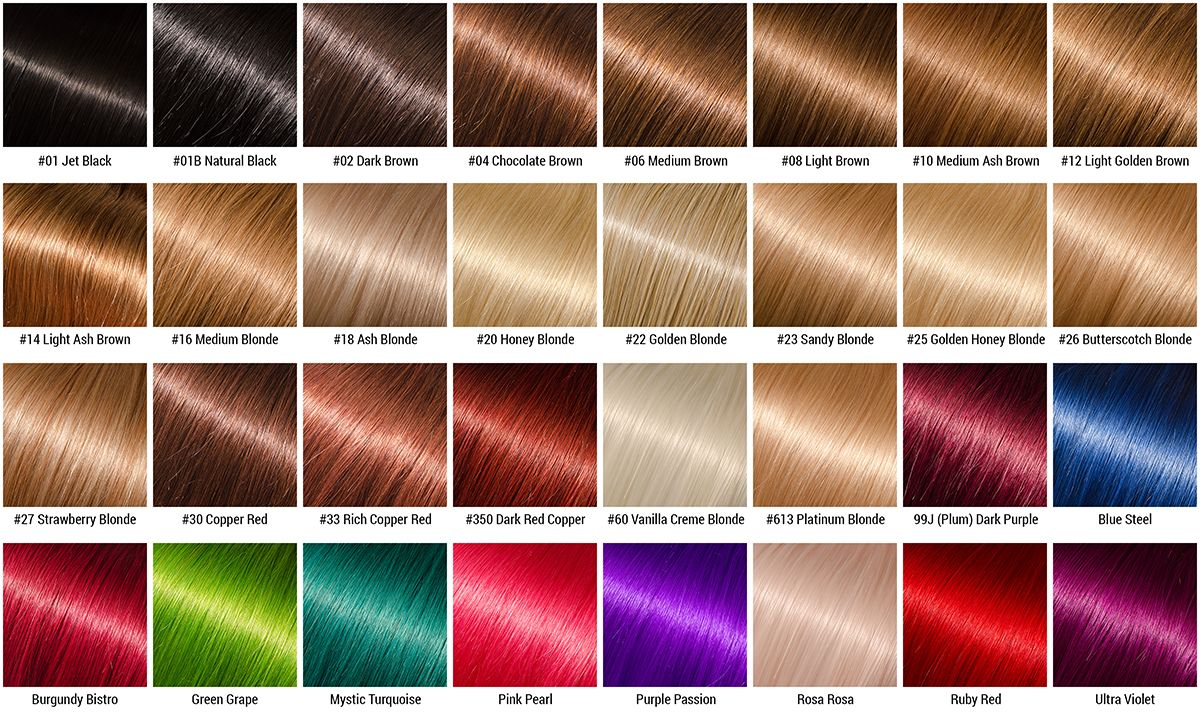Light Golden Brown Hair Color Chart Ibovnathandedecker