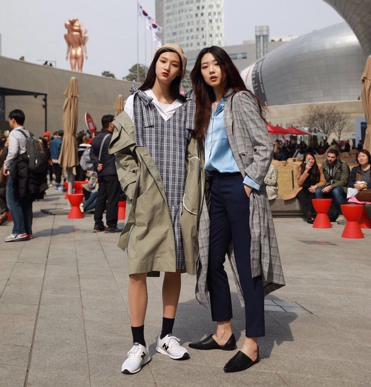 Seoul Fashion Week 2017 Women S Seoul Fashion In 2019 Seoul